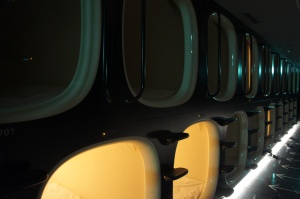 Dortoir de capsules