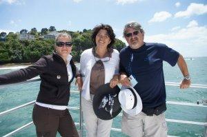 Balade en bateau dans la baie d'Auckland