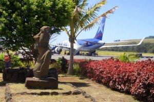 Aéroport bien local - Hanga Roa - Ile de Paques