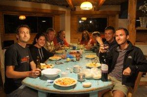 Soirée Pasta pour l'équipe du Mirador