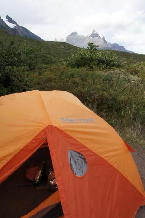 Notre jolie tente - Torres del Paine - Chili