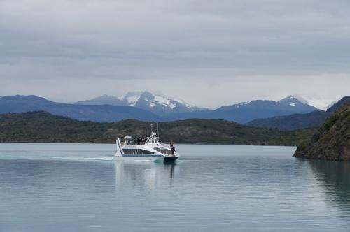 Traversée de Pudeto au camping - Torres del Paine - Chili