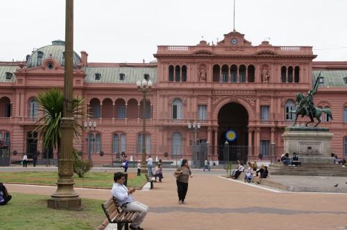 La Casa Rosada - Buenos Aires - Argentine