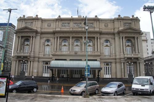 Facade du Teatro Colon - Buenos Aires - Argentine