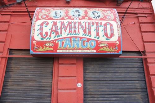 Boutique de souvenir au Caminito - Buenos Aires - Argentine
