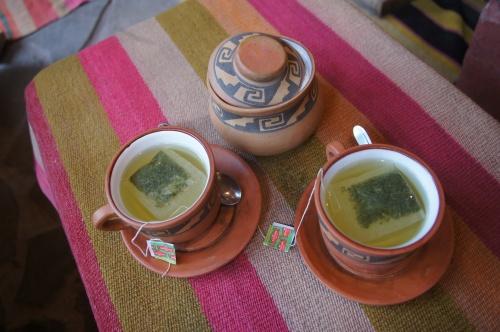 Thé de coca - Tilcara - Argentine