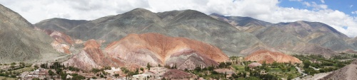 La montagne aux 7 couleurs - Purmamarca - Argentine