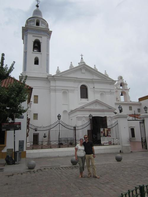 Eglise du cimetière de la Recoleta - Buenos Aires - Argentine