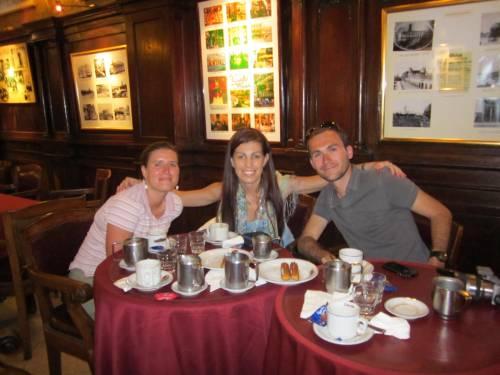 Churros au café Tortoni - Buenos Aires - Argentine
