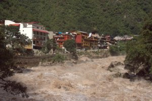 Torrent - Aguas Calientes - Pérou