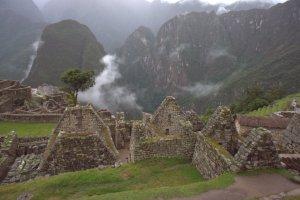 Habitations incas - Machu Picchu - Pérou