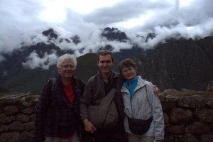 La famille Dubois - Machu Picchu - Pérou