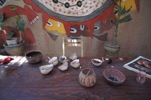 Peintures avec des pigments naturels - Nazca - Pérou