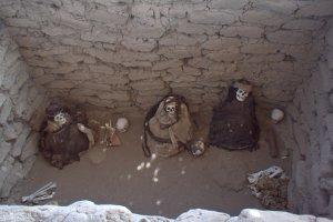 En position foetale - Nazca - Pérou