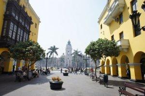 La cathédrale - Lima - Pérou