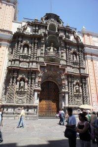 Eglise de la Merced - Lima - Pérou