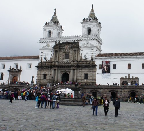Eglise et couvent San Francisco - Quito - Equateur