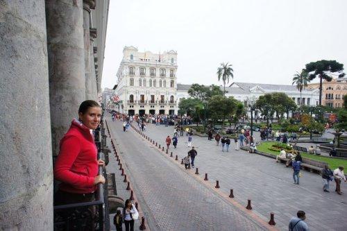 Depuis le Palais présidentiel - Quito - Equateur