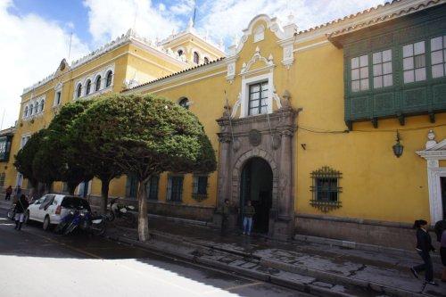 Casa del gobierno - Potosi - Bolivie