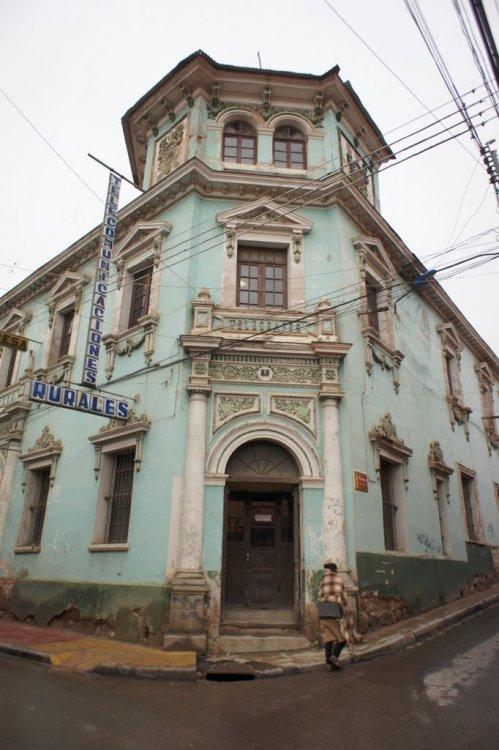 La maison des telecoms - Potosi - Bolivie