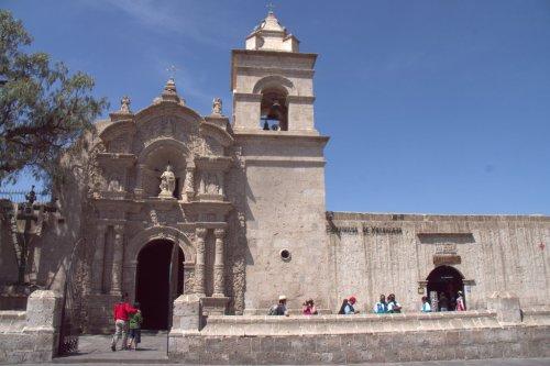 Eglise baroque colonial - Arequipa - Pérou