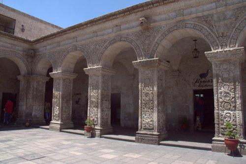 Cour de la Compagnie de Jesus - Arequipa - Pérou
