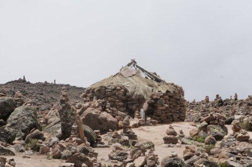 Maisonnettes pré-incas - Patapampa - Canyon de Colca - Pérou
