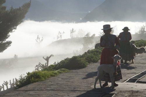 Dans les nuages - Canyon de Colca - Pérou