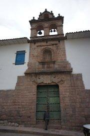 Un joli porche - Cusco - Pérou
